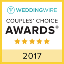 Wedding Wire Couples Choice Award.
